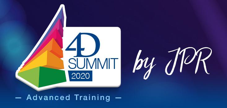Lo invitamos a unirse al 4D Summit 2020 - Formación avanzada por JPR